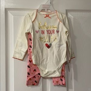 believe in your selfie 6/9 month outfit.
